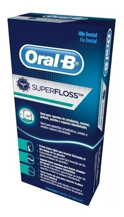 Seda dental superfloss de oral B Peru