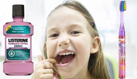 limpieza dental aparatos ortodoncia niños
