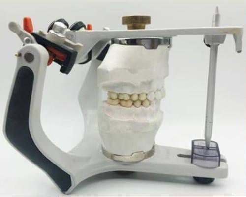articulador dental prótesis dental